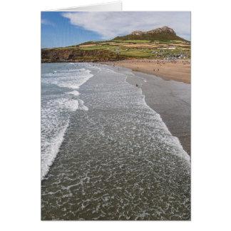 Bucht Wales Porth Mawr Whitesands Karte
