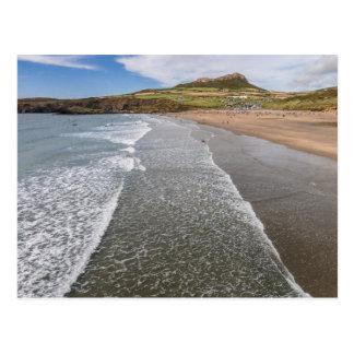 Bucht Wales Porth Mawr Whitesands Postkarte