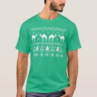Buckel-Tageskamel-hässlicher T-Shirt