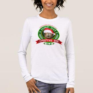 Buckel-Tageskamel-Weihnachtsale-Aufkleber 2013 Langarm T-Shirt