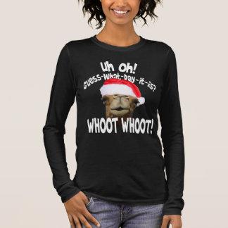 Buckel-Tageskamel-WeihnachtsT - Shirt