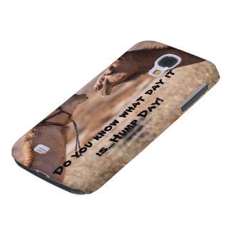 Buckel-Tageskamele Galaxy S4 Hülle
