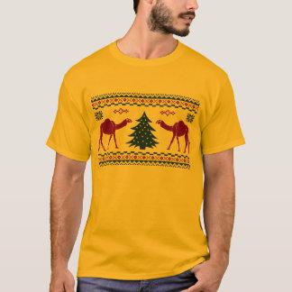 Buckel-Tagesweihnachtskamel-hässliches T-Shirt