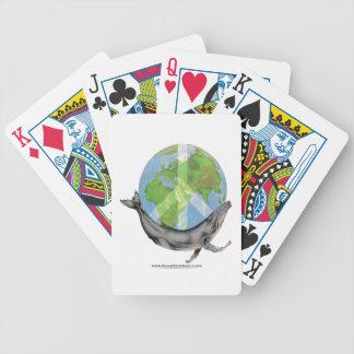 Buckel-Wal-Friedensentwurf Bicycle Spielkarten