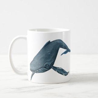 Buckel-Wal-Malerei Tasse