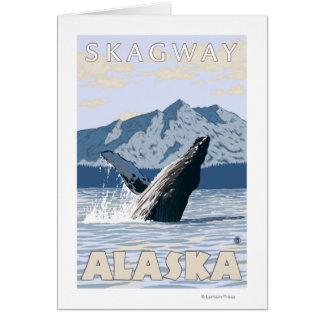 Buckel-Wal - Skagway, Alaska Karte