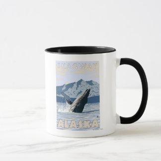Buckel-Wal - Skagway, Alaska Tasse