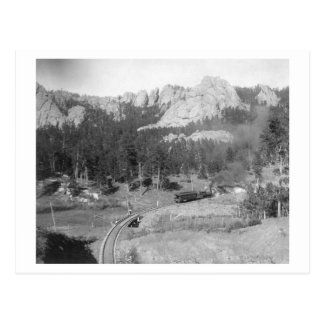 Buckhorn Berge über Bahnstrecken hinaus Postkarte