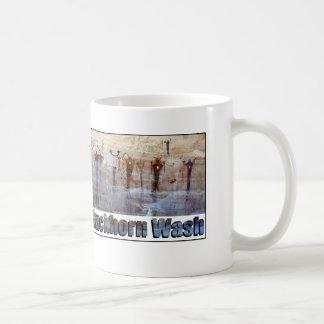 Buckhorn Wäsche-Petroglyphen Kaffeetasse