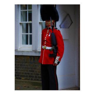 Buckingham Palace-Schutz Postkarte