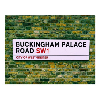 Buckingham Palace-Straße - London Postkarte