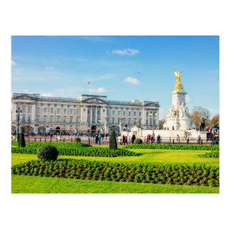 Buckingham Palace und Victoria-Denkmal Postkarte