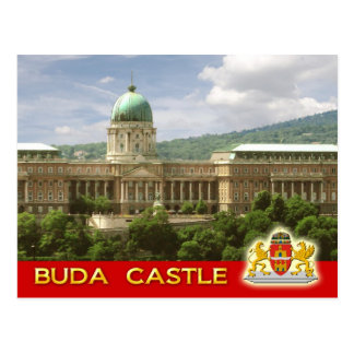 Buda Schloss in Budapest, Ungarn Postkarte