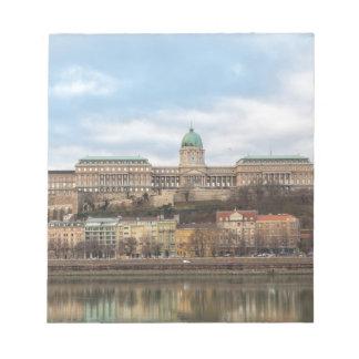 Buda Schloss Ungarn Budapest am Tag Notizblock