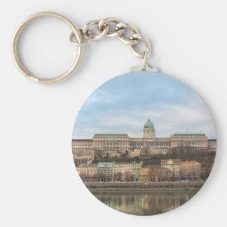 Buda Schloss Ungarn Budapest am Tag Schlüsselanhänger