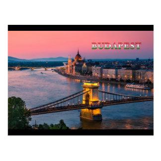 Budapest 002B Postkarte