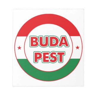 Budapest, circle, Color, Notizblock