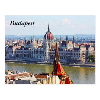 Budapest, das Gebäude des Parlaments, Budapest Postkarten