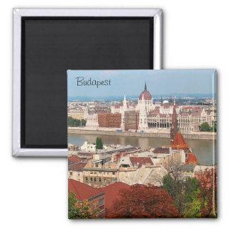 Budapest-Magnet Quadratischer Magnet