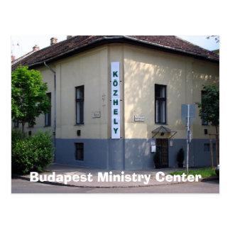 Budapest-Ministerium-Mitte Postkarte