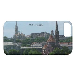 Budapest-Nametelefon-Hüllen 2 iPhone 8/7 Hülle