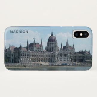 Budapest-Nametelefon-Hüllen 3 iPhone X Hülle