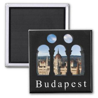 Budapest-Parlament Quadratischer Magnet