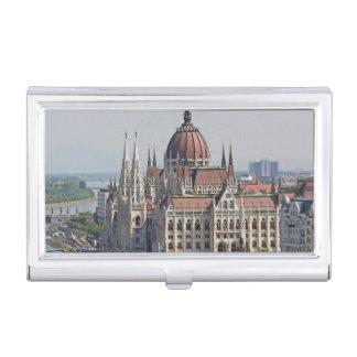 Budapest-Parlamentssüdseite, Ungarn Visitenkarten Etui