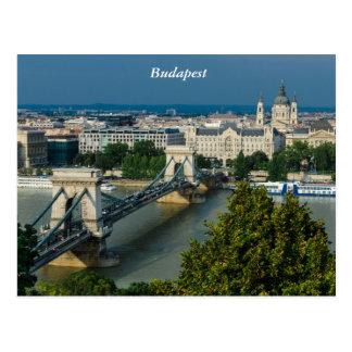 Budapest Postkarte