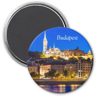 BUDAPEST RUNDER MAGNET 7,6 CM