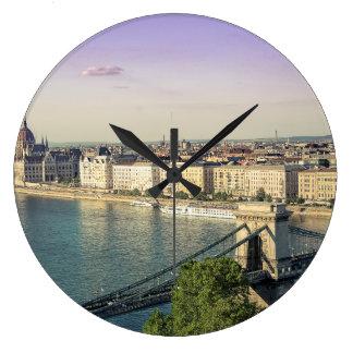 Budapest-Stadtbild Große Wanduhr