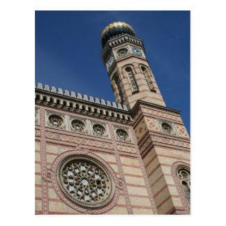 Budapest-Synagogepostkarte Postkarte