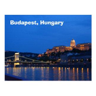 Budapest, Ungarn Postkarte