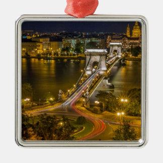 Budapest, Ungarn Silbernes Ornament