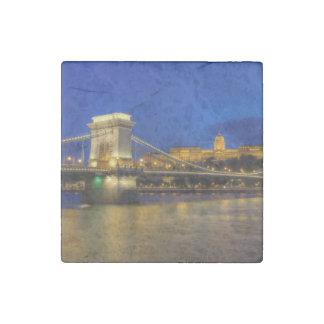 Budapest, Ungarn Stein-Magnet