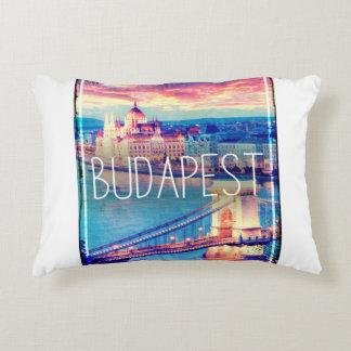 Budapest, vintage, Plakat Zierkissen