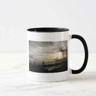 Budd Einlass-Olympia WA - Winter-Morgen Tasse