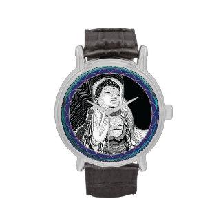 Buddah Uhr