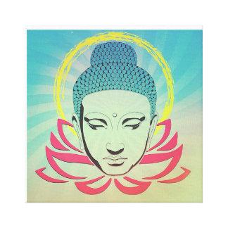 Buddha auf Lotus Leinwanddruck