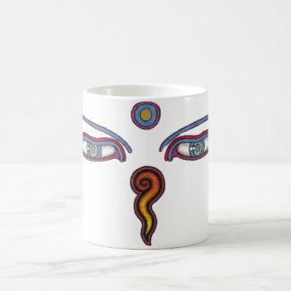 Buddha-Augen Kaffeetasse