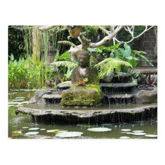 Buddha Bali Indonesien Postkarte