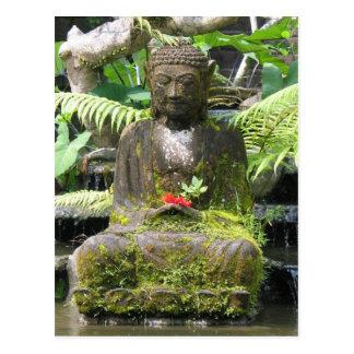 Buddha Bali Postkarte
