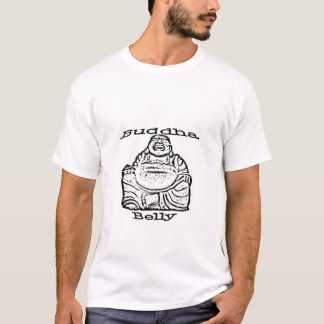 Buddha-Baucht-stück T-Shirt
