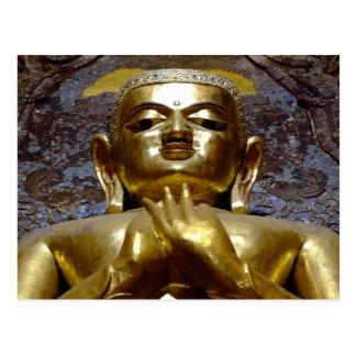 Buddha-Bild Postkarte