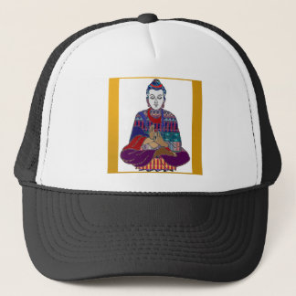 BUDDHA-Buddhismus-nette Liebe-Licht-Hingabe NVN634 Truckerkappe