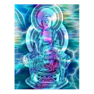 Buddha-Energie 6 Postkarte