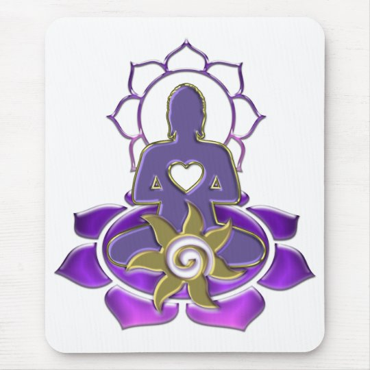 BUDDHA energy | make your own background Mousepad