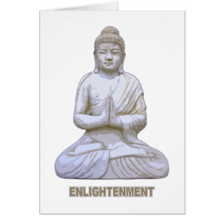 Buddha-Erleuchtung Karte