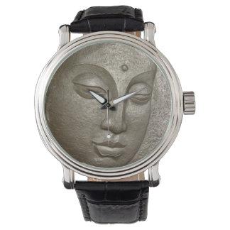Buddha face armbanduhr