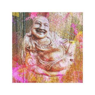 Buddha-Farbe Leinwanddruck